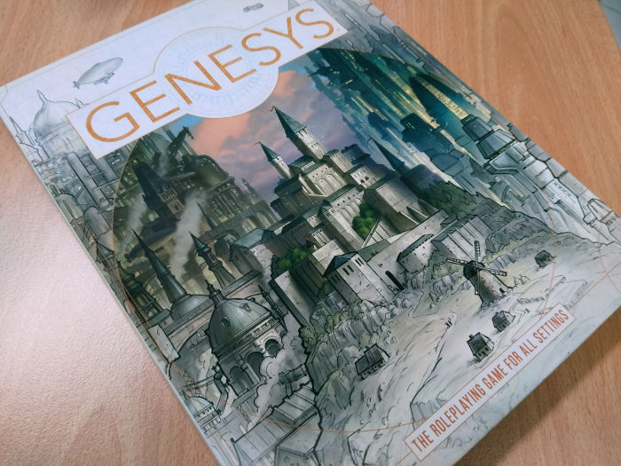 Genesys RPG Core rule book