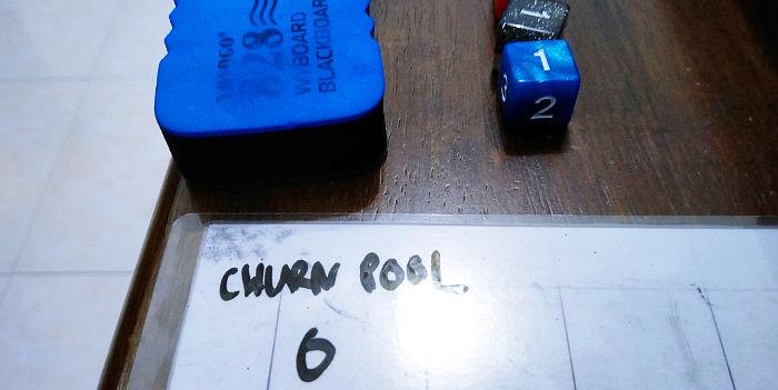 Churn Pool is zero