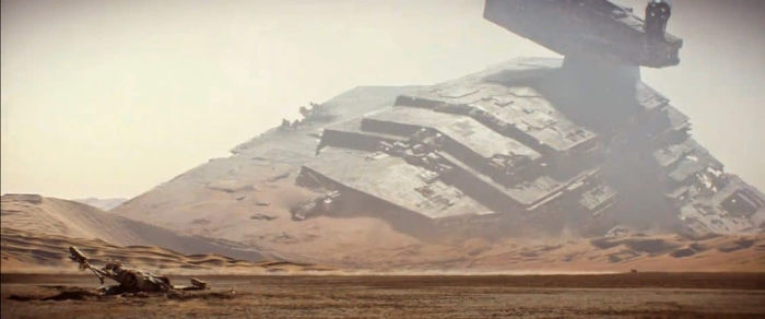 Jakku Star Destroyer