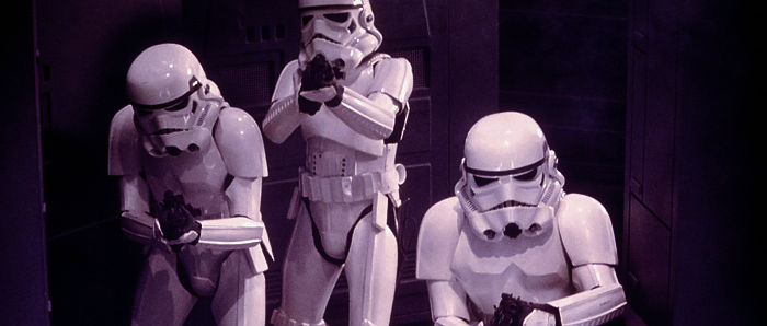 Three Imperial Stormtroopers