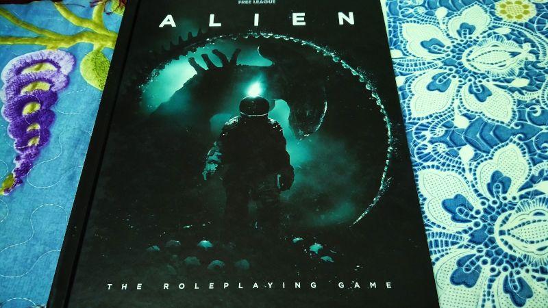 The Alien RPG cover